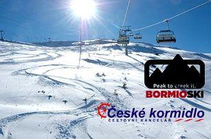 5denní Bormio (Alpy, Itálie) | Doprava, Hotel Ambassador***, polopenze a skipas v ceně!