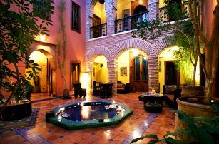 Maroko - Marrákeš na 8 až 11 dní, polopenze nebo snídaně s dopravou letecky z Prahy