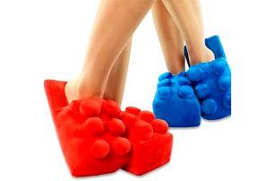Kreativní domácí pantofle - stavebnice - skladovka - poštovné zdarma