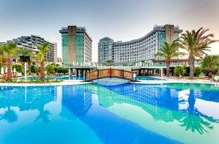 Turecko, Antalya, letecky na 8 dní s all inclusive