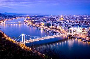 Celodenní zájezd do Budapešti v době adventu pro 1 osobu