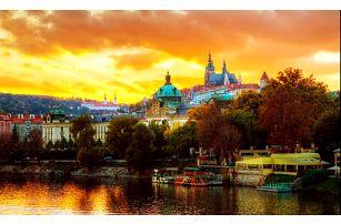Hotel Bohemians s výhledem na Vltavu pro dva se snídaní na 2, 3 nebo 4 dny