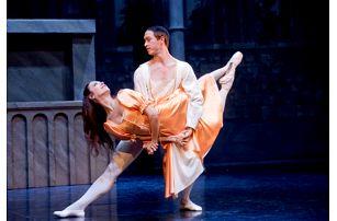 Balet Romeo a Julie v Divadle Hybernia - exkluzivní místa v hlavním parteru hlediště
