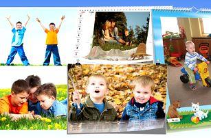 Nástěnné či stolní kalendáře z vašich vlastních fotografií. Osobitý dárek nejen pod vánoční stromeček.
