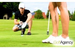 Výuka golfu zakončená přidělením HCP 54 a certifikátem v Golf Agency v Poděbradech