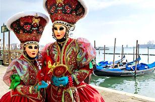 Benátky - karneval, Verona a Padova, 22.2.-26.2.2017: zájezd pro 1 osobu vč. 2x ubytování