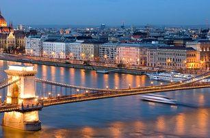 Advent nebo nový rok v Budapešti se snídaněmi