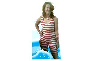 Retro plavky - dámské - XL
