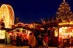 Zájezd vlakem do adventních Drážďan s možností doplňkového programu