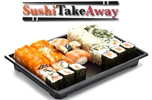 50% sleva na čerstvé japonské sushi s sebou ze Sushi Take Away