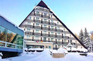 Zimní dovolená na Vysočině pro DVA s relaxem ve wellness a polopenzí