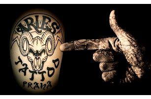 Tetování od profesionálních tatérů ve velikosti do 9x9 cm v pražském studiu Aries Tattoo