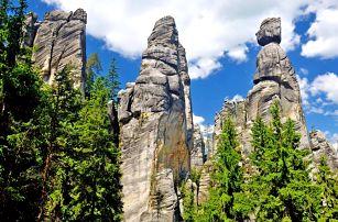Celoroční dovolená u Adršpachu pro DVA s bohatou polopenzí