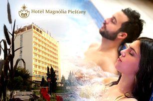 6denní léčebně-relaxační pobyt v hotelu Magnólia**** pro 1 nebo 2 osoby