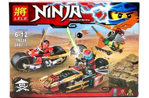Stavebnice Ninja-Mistři Spinjitsu