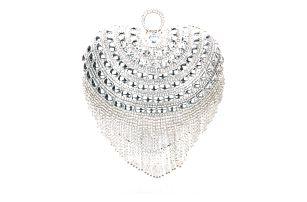 Fashion Icon Fashion Icon Psaníčko společenské srdíčko perla