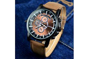 Analogové pánské hodinky - dodání do 2 dnů