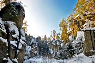 Ráj výletníků: Pobyt s polopenzí u Adršpachu