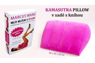 Kamasutra polštář + kniha Mezi mužem a ženami!