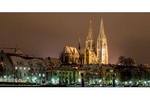 Historický Regensburg a relaxace v Ambergu
