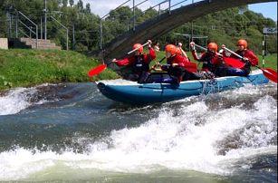 Zdolejte kanál vítězů v Liptovském Mikuláši nebo splavte krásnou řeku Váh