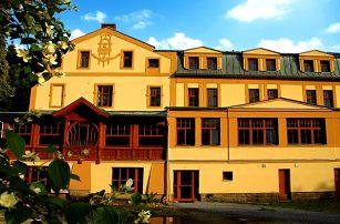 3–4denní wellness pobyt pro 2 s polopenzí v hotelu Praděd Thamm*** v Jeseníkách