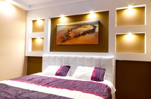 Fotoobraz z vlastních fotek tištěný na malířské plátno na smrkovém rámu, výběr z 5 rozměrů