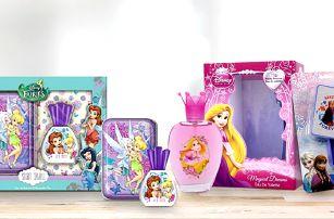 Pohádkové toaletní vody z oficiální kolekce Disney pro vaše malé princezny