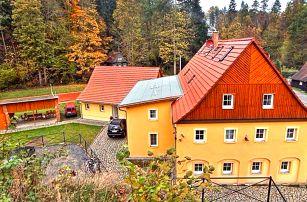 Aktivní dovolená v Českém Švýcarsku s polopenzí