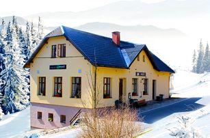 Relaxační pobyt v Krkonoších s wellness a polopenzí pro dva v pensionu Esprit