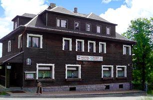 3–6denní pobyt s polopenzí pro dvě osoby v Krušných horách v hotelu Sport Bublava