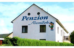 3–6denní sportovní pobyt pro 2 osoby na Šumavě v penzionu Nemílek