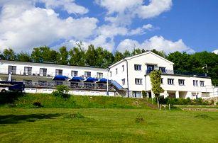 3–6denní pobyt s vínem pro 2 osoby v hotelu Kapitán poblíž Železných hor