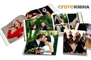 Fotokniha ve formátu A4 v pevné vazbě se 40, 60 či 80 stranami