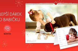 Nejmilejší dárky - fotokalendáře z vašich fotek