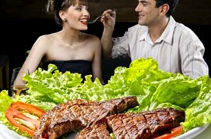 2x 200g steak dle výběru v restauraci Hotelu Milotel*** - na výběr 5 druhů
