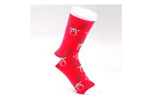 Teplé zimní ponožky s vánočními motivy