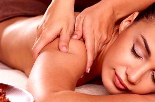 90minutová aromaterapeutická masáž celého těla
