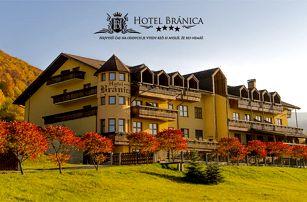 Příjemně strávené dny v horské přírodě Malé Fatry s hotelem Bránica ****