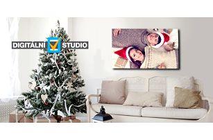 Fotoobraz z vlastních fotografií na kvalitním plátně na dřevěném rámu, několik rozměrů
