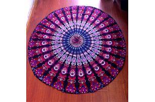 Plážový šátek - Mandala - dodání do 2 dnů