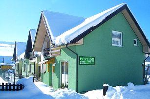 3–6denní pobyt se snídaněmi a wellness pro 2 osoby v penzionu Zelený dom na Oravě