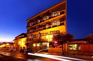 3–6denní pobyt se snídaněmi a masáží pro 2 v hotelu Krystal v Luhačovicích