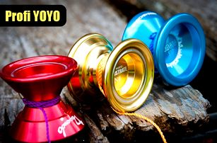 Yoyo magic!! Kovové jojo pro super triky!! 2 modely!!