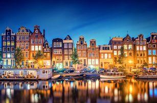 Amsterdam, 4denní zájezd pro 1 osobu s 1x ubytováním z Brna - Keukenhof, Volendam a další
