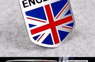 Samolepka na auto - England - dodání do 2 dnů