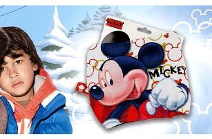 Nákrčník pro dívky s motivem Mickey Mouse