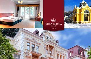 Villa Gloria*** kousek od lázeňského centra pro dva - pokoje Deluxe, snídaně a 1 noc zdarma