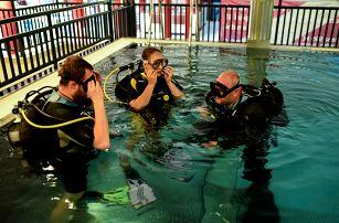Ochutnávka potápění v Libereckém kraji