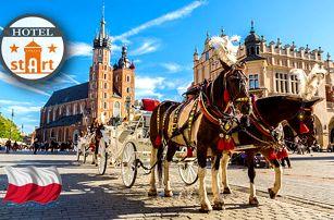 Krásy Krakova s výhodným ubytováním, rychlou dostupností do centra a zastávkou MHD hned u hotelu za výbornou cenu